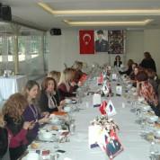 Düzenlenen toplantıya Nilüfer Lions Kulübünün tüm üyeleri katıldı.