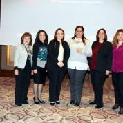 BUİKAD Yönetim kurulu ve konuk konuşmacı Pınar Kaftancıoğlu