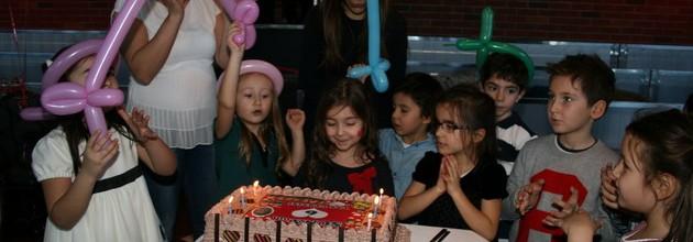 Minik Suna'ya görkemli doğum günü