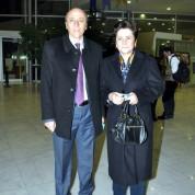 Uludağ Üniversitesi Rektörü  Prof. Dr. Kamil Dilek ve eşi