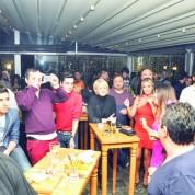 Gecede konuklar Grup Encanto Cubano'nun şarkılarıyla unutulmaz bir gece yaşadı.