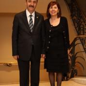 Bursa Barosu Başkanı Ekrem Demiröz eşi Nuran Demiröz
