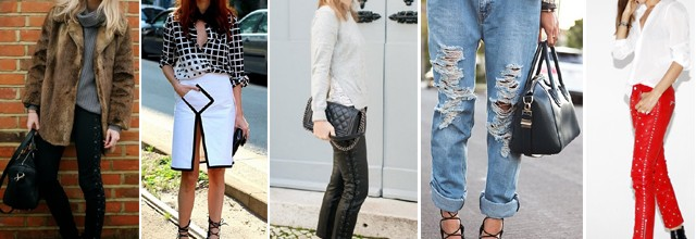 Trend: Lace Up