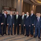 Bursa Valisi ve BALKANSİAD Yönetim Kurulu Üyeleri