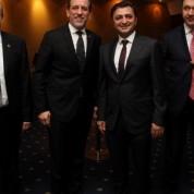 BTSO Yönetim Kurulu Başkanı İbrahim Burkay,TÜGİAD Bursa Şubesi Başkanı Baran Çelik