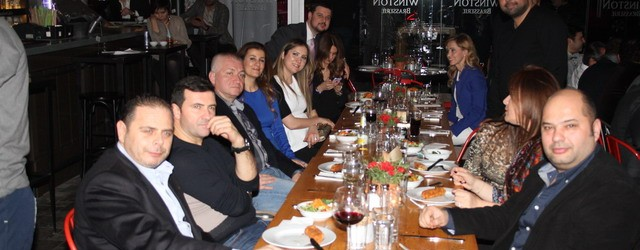 Bademli Lions, The Winston Brasserie'de toplandı