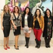 Ressamlar Orkide Alakoç, Banu Biçen, Dilek Şen, Aslıhan Fatma Kabakçı