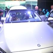 Mercedes-Benz C-Serisi ve Yeni GLA, davetliler tarafından büyük ilgi gördü.