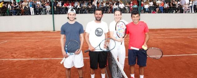 Bursa'da tenis rüzgarı