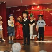 Gösterinin  finalinde,  Atatürk'ün canlanışı seyirciler tarafından  büyük alkış aldı.