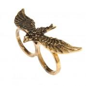 white-leaf-rings-white-leaf-antique-eagle-double-finger-ring-bronze-colour