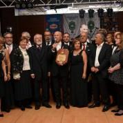 Gecede Cumhuriyet Sözcüsü Ödülü Prof. Dr. Emre Kongar'a verildi.