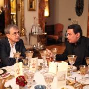 Ayşe Ege, Orhan Pamuk, Cengiz Çetindoğan