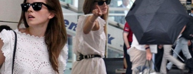 Emma Watson'un İstanbul gezisi olaylı bitti
