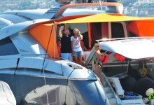Yalıkavak'ta tekne keyfi