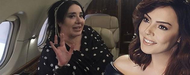 Gündeş'in konserine Sarraf'ın uçağıyla gitti