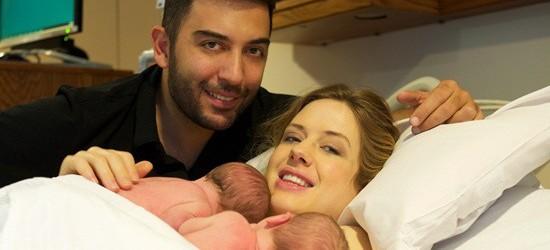 İkizler dünyaya geldi