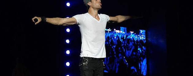 Enrique Iglesias İstanbul'da konser verdi