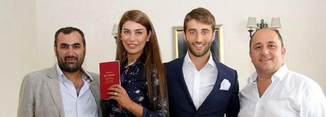 Ebru Şancı ünlü futbolcuyla evlendi