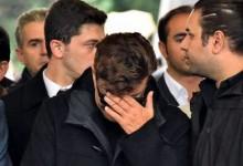 Fatih Ürek Annesinin Cenazesinde Ayakta Durmakta Zorlandı