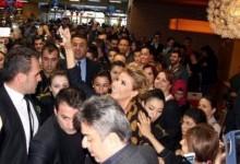 Gülben Ergen'e Bursa'da Sevgi Seli