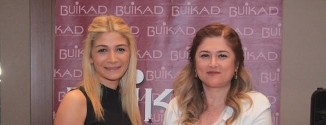 BUİKAD usta rallici Simin Bıçakçıoğlu'nu ağırladı