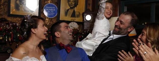 Ceyda Düvenci ve Bülent Şakrak Kaz Dağları'nda evlendi