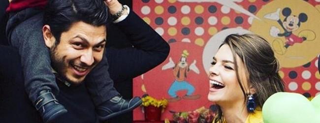 Pelin Karahan ve eşi Bedri Güntay oğullarının doğum gününü kutladı