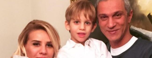 Esra Erol oğlunun fotoğrafını paylaştı