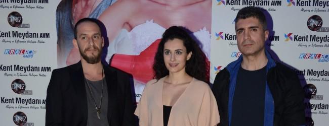 Her Şey Aşktan filminin  özel gösterimi Bursa'da yapıldı