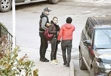 Murat Boz sevgilisi Aslı Enver'i sette bekledi