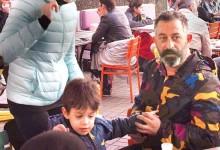 Cem Yılmaz oğlu Kemal ile Bebek'te