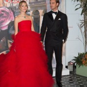 Pierre et Beatrice CasiraghiBal de la Rose 2016 imagine par Karl Lagerfeld, Soiree Cuba donnee au profit de la Fondation Princesse Grace