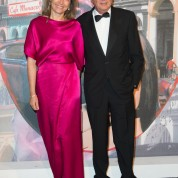 Monsieur et Madame Michel Dotta, Administrateur du groupe Monte-Carlo Societe des Bains de MerBal de la Rose 2016 imagine par Karl Lagerfeld, Soiree Cuba donnee au profit de la Fondation Princesse Grace