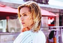 Chloe Loughnan'ın sörf macerası olaylı bitti