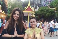 Hande'nin Tayland tatili
