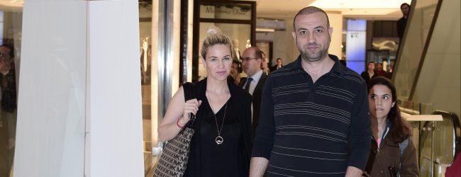 Emine Ün ve Tolga Karakaş' Akmerkez Serafina'da yorgunluk attı