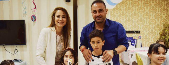 Hasan Şaş'ın kızı 7 yaşında