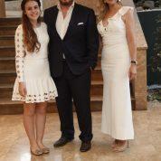 Nilüfer Lions Yeni dönem Başkanı Serpil Tunçsiper eşi Kaya Tunçsiper ve kızı Selin Tunsiper