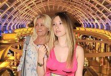 Anne kız alışverişte
