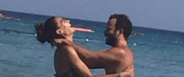 Rıza Kocaoğlu ile Hande Subaşı tatilde