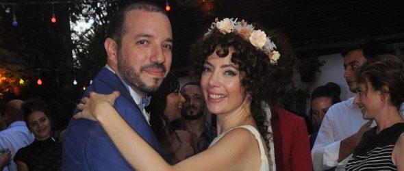 Akasya Asıltürkmen ve Serdar Özerman evlendi