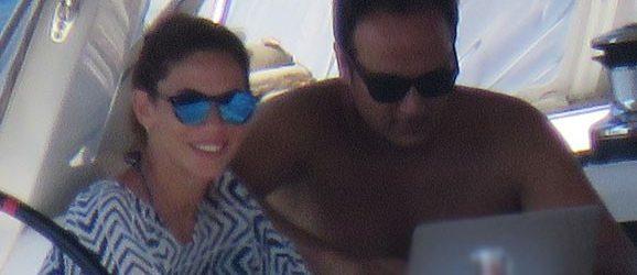 Zeynep Beşerler eşi ve oğlu ile tatilde