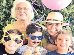 Gülben Ergen yeni yaşını kutladı