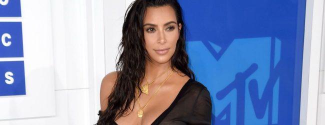 Kim Kardashian  sınırları zorladı