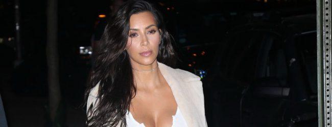 Kim Kardashian'ın akşam stili