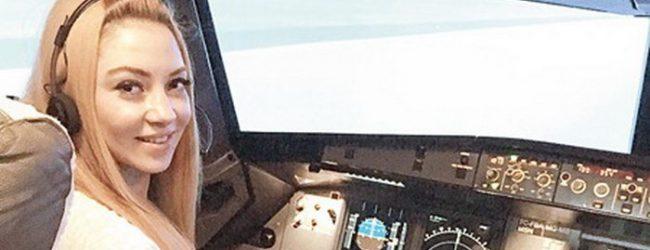 Uçak korkusunu yendi