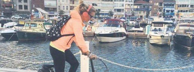 Esra Erol günde 10 kilometre bisiklet sürüyor
