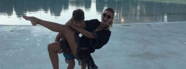 Ivana Sert'in oğluyla paylaştığı fotoğrafa tepki