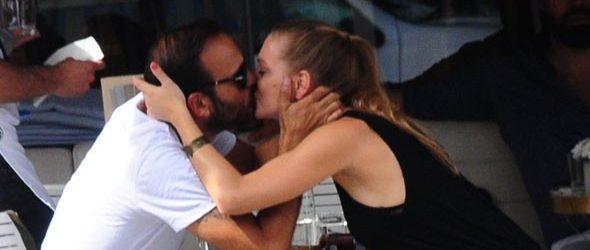 Gürgen Öz ile sevgilisinin romantik anları